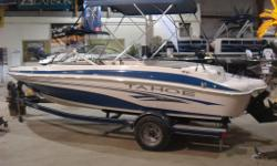 2004 Tahoe Q4 Blue with Mercruiser 4.3L TKS 190hp Alpha. This boat is ready for summer after receiving new Bellows, gimbal bearing, Engine and Drive oil changes and a compound, wax and polish. Come view it in our indoor showroom! The boat comes with