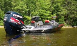 2012 Ranger z521 with 250 Evinrude Etec(new power head spring of 2015)-warranty on engine till 2017 Legacy Colours Very clean boat, always stored in doors Minn Kota Fortrex 101 Lowrance HDS8 at console and HDS 9 on ram with structure scan HDS5 at bow 2 x