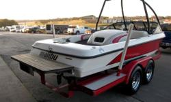 2002 Malibu Sportster 20' Ski Boat With 7.17' Beam. DEFINITELY A SIMPLE TURN KEY DEAL ! INSTANT FUN, JUST ADD WATER !!! Features include: Vortec 350 V8 Engine Ski Tower Surround Sound Audio System With Alpine MRV-F340 Amp And Kicker And Alpine Speakers