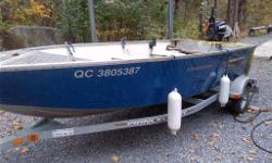 "Package includes - 2009 Princecraft Starfish. 20"" Transom. 2012 BRP/Evinrude E-TEC 30 tiller - electric start, power trim/tilt (purchased new in Sept 2013, used one season). 2014 Princecraft Galvanized trailer Extras included - 2014 Interstate Cranking"