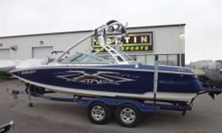 $156 Bi-Weekly Nice Mid-Size Watersports Boat!Payments Starting at $156/Bi-Weekly5.7L 350 HP V-Drive Indmar Engine, 457 Engine Hours, Seating for 12, ZFT4 Tower with 4 Speakers, Tower Mirror, Perfect Pass Speed Control, Clamp Board Racks, Dash Display,
