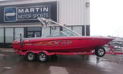 $175 Bi-Weekly Trust MasterCraft to take summer beyond your expectations with this 2005 MasterCraft X30, featuring a powerful 5.7L Indmar engine, room for 12 and tower speakers. Be confident in your pre-owned boat purchase thanks to our Certified