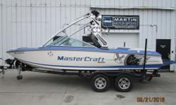 $270 Bi-Weekly This 2009 MasterCraft X14V features ample room for 11 friends, a 5.7L Indmar MCX engine, ballast system, ZFT3 tower and more. Be confident in your pre-owned boat purchase thanks to our Certified Pre-Owned Boat Program. Each unit goes