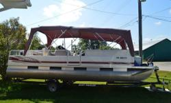 2005 24' proncecraft pontoon boat in excellent condition. 60 hp 4 stroke mercury outboard motor. Easyhauler trailer. All for 19000! Come with all the perks, fishfinder, etc. Proffesionally stored and maintained every winter. Please contact 7058268486 for