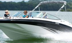 The number one selling runabout in the 19-foot category is packed with family-friendly amenities not found on competing boats. Key features include a roomy interior layout with extra storage, an award-winning, two-tiered swim platform and a reliable, 1.8