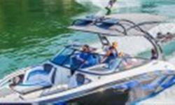 A new, high performance wake boat boasting cutting-edge electronics, innovative technologies and advanced wake control functions. Standard features include Yamaha?s triple ballast system, award-winning Connext? interface featuring new Drive Control and a