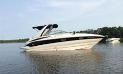 A must see boat. Always stored on a boat lift. Fully equipped Crownline 270 CR with trailer: - Full Camper Top, Bimini and Tonneau - Depth sounder - Docking Lights - Full Engine Instrumentation - GPS - Navigation Lights - VHF Radio - Microwave, bbq - AC -