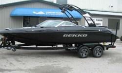 REVO 6.7i WORLD CLASS SKI AND WAKEBOARD BOATFINALLY AN AFFORDABLE CLASS LEADING SKI AND WAKEBOARD BOAT. BEAUTIFUL SHIMMER BLACK METALLIC WITH LUXURIOUS INTERIOR. COMPLETE WITH CONCERT PACKAGE SOUND UPGRADE WITH TOWER SPEAKERS DUAL BATTERY SYSTEM SEA DECK