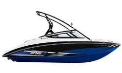 Fully-equipped for wake sports fun, Yamaha's 212X comes standard with twin 50-gallon ballast tanks, Cruise Assist speed control for precise tow speeds, a folding aluminum tower with built-in racks and a passenger-friendly open lounge design with plenty of