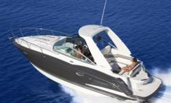 Merc 350 Mag MPI Bravo III 300 HP with SS Prop, Lifetime Limited Hull Warranty, NMMA Certification, Head Module, Enclosed Fiberglass, Gel Coated Bilge & Engine Compartment, Wet Bar w/Solid Surface, Sink, Faucet, & Storage, Stainless Steel Thru Hulls,