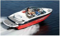 Merc 4.3L TKS Alpha 190 HP with Alum Prop, Bimini Top for Wakeboard Tower, Stand Up Bimini Top, Lifetime Limited Hull Warranty, Fusion Stereo AM/FM with iPod Docking Station, Battery Switch, Automatic Bilge Pump, Two Coolers, Storage, In-Floor Ski w/Gas