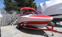 2012 Tahoe Q5I bowrider, 19', 4.3L Merc, 190 hp, compass, AM/FM CD, sport seating, boarding ladder, bimini top, tonneau cover, matching bunk trailer, $25 900 or $75/WEEK OAC