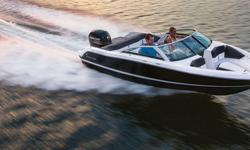 2014 Four Winns H180OB The Horizon Series The lightweight outboard motor on this 18-foot open-bow sport platform makes it a breeze to pull skiers and wakeboarders. Features angled, deep-reach swim ladder, spacious seating and more. Notable Features: