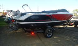 COMES WITH THRU SIDE EXHAUST, CONVENIENCE PACKAGE, FULL WINDSHIELD, COCKPIT/FORWARD COVER. COMES WITH VOLVO PENTA 5 YEAR WARRANTY PROMOTION. SALE END MAY 1.2016