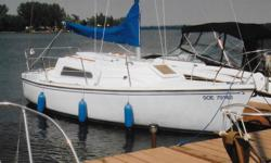 23.0' GRAMPAIN 23 1973, 9.9 Johnson Sailmaster Long Shaft electric motor 3 sails Cabin & cockpit cushions 2 burner propane hot plate steel cradle shoal draft Must sell! , $3500.