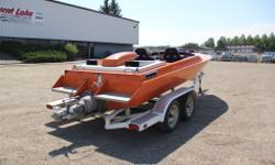 21' Alicraft Sport Boat -Autometer gauges -Bucket seats -New ZZ4 crate engine -SD 309 pump -Mechanical place diverter -Aluminum engine cover -Travel cover -Nice boat at a good price