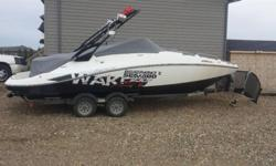 2011 Seadoo Wakeboard 23 'boat in excellent condition. Asking $62500 OBO .Has 31 hours on it and 2 - 255 supercharged motors =510 HP, Aftermarket stereo, Wake ballast, Selling because I don't have time to use it.