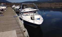 COLOUR - Cosmic Blue ENGINE - 2013 Mercruiser 4.3 TKS (190 HP) * ROSWELL Area 52 tower w/ Toy Holders * Apex hull - 3 dimensional woven Kevlar & Fiberglass * Razor edge in-gel graphics * Fiberglass hull liner & Cockpit * Integrated swim platform with