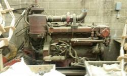 This is a Cummins Diesel NT 855 Marine Engine. Only 701 original hours.