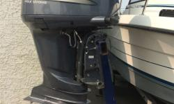 One owner Yamaha F225 4 stroke out board motor Serviced every year at 50-75 hrs Stainless steel propeller compression check done by professional mechanic and very good results. Motor was fresh water flushed every time it was used. Motor was mounted on a