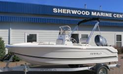 INCLUDES: BOW COOLER CUSHION BIMINI TOP W/ BOOT BLOCK HELM SEAT COVER BLACK FOLD DOWN CONSOLE WINDSHIELD STAINLESS STEERING WHEEL W/ CONTROL KNOB TILT HELM W/ CABLE STEERING CANADIAN COMFORMITY PLATE