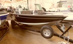 Instock and priced to sell only $29,995 plus freight and pdi. This boat is built by fisherman for fisherman! Extremely well thought out the boat has loads of storage and features the Alumacraft 2 x B hull (double plated hull). The 2 X B gives the driver a