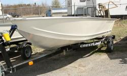 ~VALUE BOATS FOR ANY BUDGET. These no-nonsense, riveted aluminum fishing boats are ideal whether you are just getting started in boating or if you need a second boat as a back up for hitting the small lakes and rivers. Beam: 5 ft. 7 in. Max load: 985 Hull