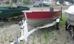 BOAT ONLY! Specifications Length Overall (LOA): 168 Features