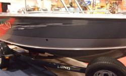 2016 LUND 1800 TYEE w/ Mercury 150 XL 4-st and a Shorelandr Trailer with Brakes, Swing tongue and Retractable Tie Downs. Also included Chrome Raised Lettering, Spare Tire, Load Guides, Airride upgrade, Seastar Hydraulic Tilt Steering, Travel Cover, Sport