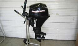 8 hp 4 stroke short shaftTaking the fun with you is a great advantage of inflatable boats and small fishing boats. Mercury offers a complete line of portable FourStroke outboards that are extremely light, with the widest range of models to choose from.
