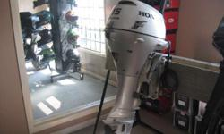 2006 Honda 15HP4-stroke,elec.start,long shaft, $2195.00 includes prop,tank,fuel lineHonda�s smaller engines come in a range of sizes to match just the right power with your needs. From canoes, small tender and inflatables, to aluminum fishing boats and
