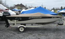 Attention all fisherman, just traded and ready to go. 2003 Legend Xcite 164 with a 2009 Mercury Four Stroke 40 HP. Boat also comes with a brand new trolling motor and fishfinder. The boat is available at our Ottawa location. Specifications Length Overall