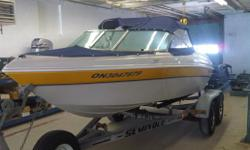New 166 Tempest,Full top,built in gas tank,guages.                 Boat Only