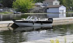 2010 Legend 16 Xtreme - 16' Full windshield fishing boat/runabout. Purchased new in 2010: 50hp EFI 4 stroke Mercury, Minnkota Bowmount trolling motor, 2 Deepcycle batteries, Hummingbird Fishfinder, full canvas & mooring cover, 4 Legend swivel seats,