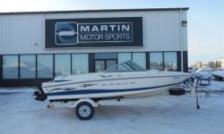 $80 Bi-Weekly Enjoy the good life without taking a bite out of your wallet with this 2003 Maxum 1750, the perfect starter boat with ample room for a crew of 7, low hours and plenty of storage. Mercruiser 3.0L 135HP Engine 7-Person Seating Capacity Stereo