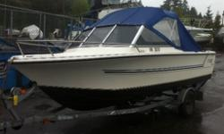 150 Hp 2 Cycle Evinrude Intruder, 9.9 Honda 4 Cycle Kicker, New Canvas, Galvanized EZ Loader Trailer, Sleeper Seats, Furuno GPS, Icom VHF Radio, Very Clean. Needs Nothing, Ready To Go. Come Bring Your Offers