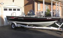 ONE OWNER ORIGINALY PURCHASED AT BAY CITY MARINA HAMILTON . ALL SEVICE AND MAINTENANCE RECORDS ON HAND. 2003 LUND MR PIKE 17. COMES WITH A 2003 90HP HONDA 4 STROKE OUTBOARD 4 PROP. BOAT AND MOTOR ARE IN EXCELLENT SHAPE. SOME SMALL DOCK RASH ON THE BOAT,