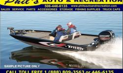 Trolling motor, Trailer, Overall Length - 17'8, Beam - 92 in., Bottom Width - 64 in., Side Depth - 21 in,. Deadrise - 12 degrees, Hull Gauge - .100, Shaft Length - 20 in., Livewell Capacity - 30 gal., Fuel Capacity - 21 gal., Recommended Horsepower Range