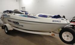 1998 Sea Doo Sportster 1800 with 170 HP!! This boat is a rocket! Needs nothing ready to hit the water. 360 hrs on the boat. Call Matt for details....