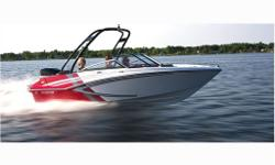 115HP E-TEC, custom trailer, sport graphics package, ski bar, pop up cleats, bolster seats, depth finder, snap in carpetWhether you?re into wakeboarding, waterskiing or tubing, the GTS 180 is ready to have some fun. This 18-foot outboard-powered bowrider