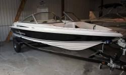 REDUCED!! NOW ONLY $18900!! DONT MISS THIS DEAL!!! Brand new, 0 hours, Full warranty. No charge for freight and PDI!! Gorgeous boat perfect for the cottage! NOW INCLUDES TRAILER!!!