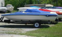 ****Blow out pricing****  This is a brand new boat, ski package included, premium package included, custom Dino steering wheel colour matched bezels, upgraded stereo, Pick your power up to 175hp Pre rigged for Merc dual steering.  Call today!! Won't