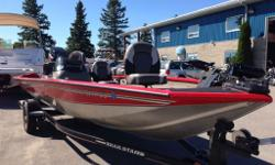Heres a deal you dont want to miss! Low low low hour Tracker Bass Boat, 90 Mercury 2-stroke, Oil Injected, matching trailer. Dont Miss It!! Call or email for more details New boats arriving daily! Huge inventory. Call us with what you're looking for;
