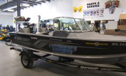 Demo boat with all the extras!!!! Comes with full factory warranty as well as the list of goodies; Vinyl floor 4 seats Stereo 2 X Cannon rod holders Cannon Magnum 10 STX electric down rigger 2 X Humminbird 998C GPS fishing system with Side Imaging