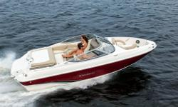 STINGRAY 188LE, Mercruiser 3.0 L MPIC. Factory Installed Options Included: Cockpit and Bow Cover (Acrylic) w/Poles, Bilge Pump 1100 GPH Auto/Man, Canadian-IMCI Certification Package, Preferred Equipment Group, Premium Option Group, Stainless Steel