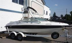 2006 Chap 190SSI, This Boat Is Loaded 5.0L GXI 270HP Motor. Tower with Racks and Bimini, Sport Seating, Snap Out Carpet, Drop In Weather Door, Built In Coolers, AM/FM/CD Player, Tandem Axle Trailer with Swing Tongue, Spare Tire, Load Guides. Ready For The