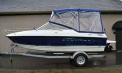 2011 BAYLINER DISCOVERY 192 CUDDY 19' Cuddy $25990 This Boat Is In Excellent Condition It Was Bought New In 2011 And Has Only Been Used For ONE Summer OVER $10000 SAVINGS With A 4.3 Ltr Mercruiser Full Canvas Infloor Ski Locker In Floor Cooler Stereo