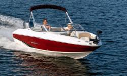 The 194LF is the model for those looking for a fish and ski boat with the easy maintenance of an outboard. The 194LF features a pedestal fishing seat, a 22-quart aerated live well, an integrated multi-slot tackle box, and a bow mount for a trolling motor.