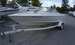 Nice boat, economical 3.0 mercruiser. Matching trailer, runs, looks great!