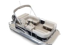Brand New in stock, this boat comes with the Classic Edition option (monochrome decals and upholstery, driver's seat upgrade, LED lights under console, steering wheel upgrade, chrome horn, docking lights), a mooring cover, bimini top, swivel captain seat